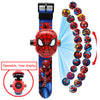 Image of 3D Projection Cartoon Watch