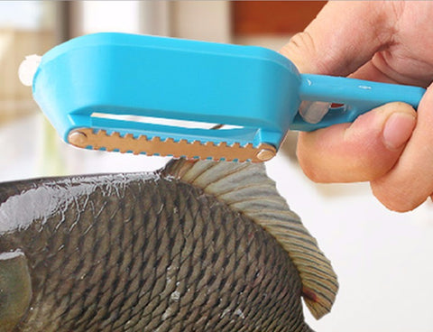 Multipurpose Scale Kill Fish with Knife Kitchen Tool