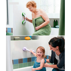 Adhesive Safety Bathroom Handle