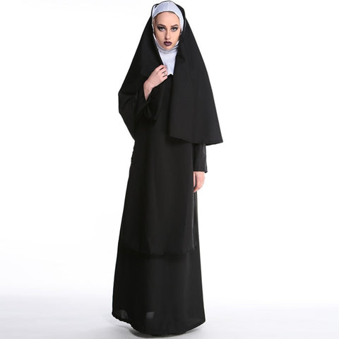 Virgin Mary Nun - Halloween Costume