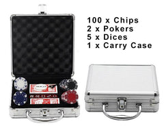 100 Pcs Poker Set