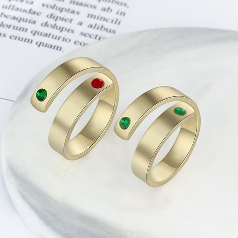 Personalized Adjustable Ring