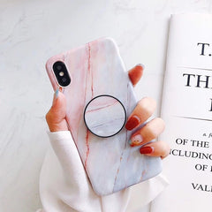 Marble Fashion Grip iPhone Case