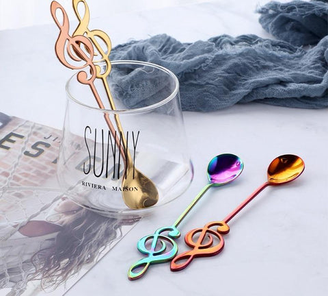 Exclusive Music Wand Coffee Spoons