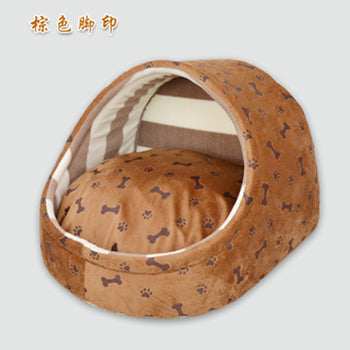 Cute Slipper Warm Kennel Dog Pets House