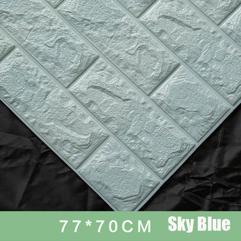 Foam 3D Brick Wall Stickers