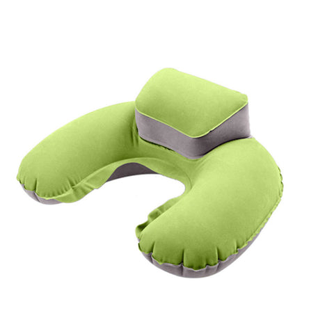Travel Inflatable Air Blowup Neck Pillow
