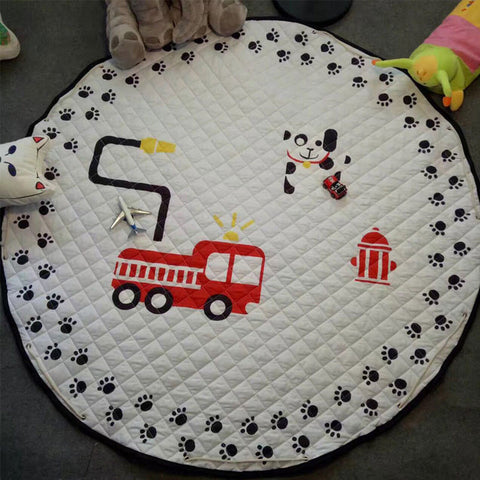 Floor Cartoon Baby Playing Mat