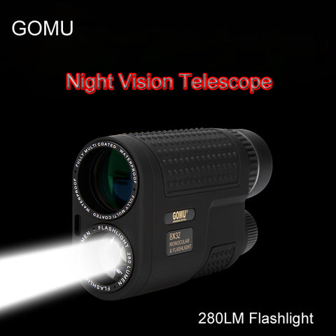 Multifunctional Night Vision Monocular Compact Telescope