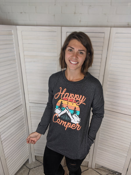 Happy Camper Long Sleeve