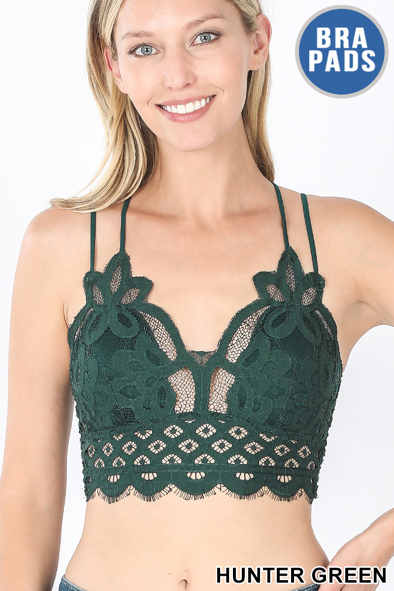 Crochet Lace Bralette (+ colors)