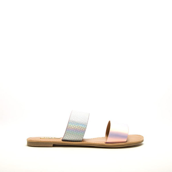 Athena Iridescent Slides FINAL SALE