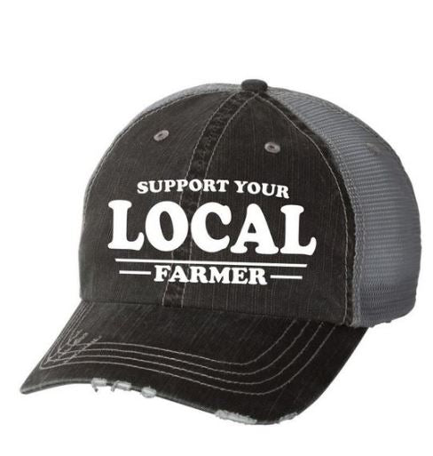 Support Your Local Farmer Hat