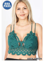 Load image into Gallery viewer, Crochet Lace Bralette (+ colors)