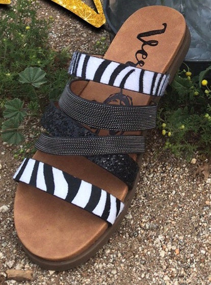 Ferociously Fearless Sandals