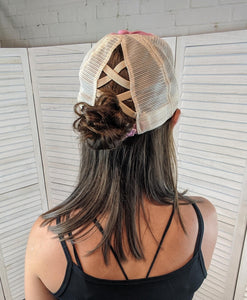 Wild Criss Cross High Pony FINAL SALE
