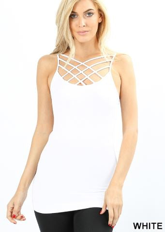 Criss-Cross Tank (+ colors)
