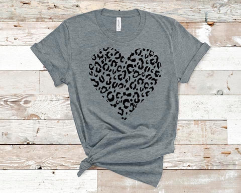 {Pre-Order} Valentine Cheetah Heart (Red or Gray)