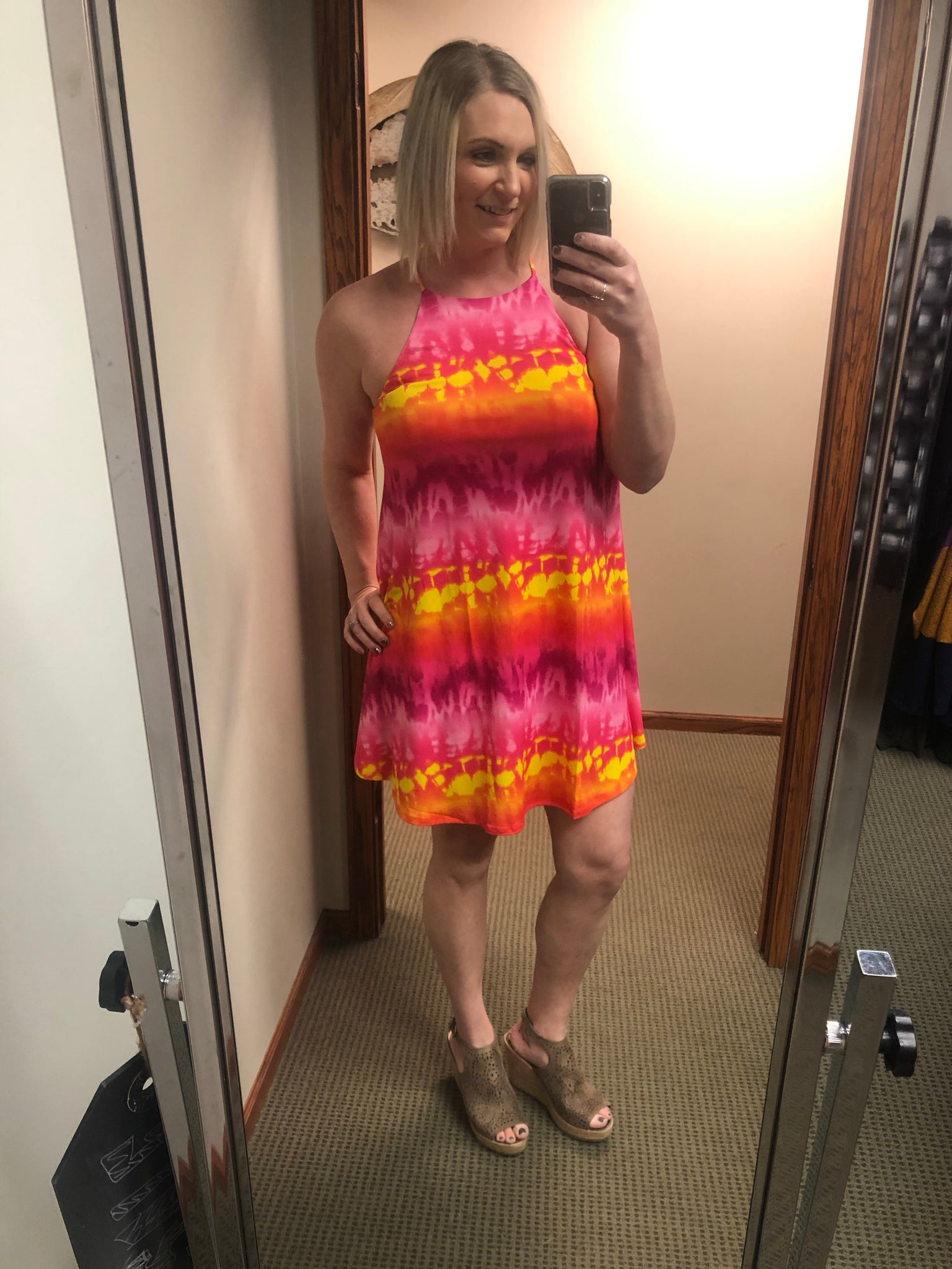 Tahiti Tie Dye Dress