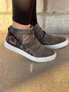 Cabin Plaid Blowfish Sneakers