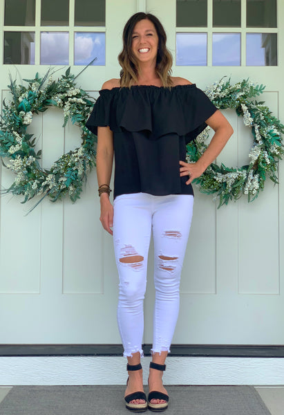 Sydney Distressed Denim FINAL SALE