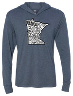 Load image into Gallery viewer, Minnesota Pride Hooded Pullover FINAL SALE