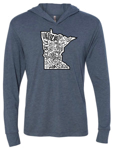 Minnesota Pride Hooded Pullover FINAL SALE
