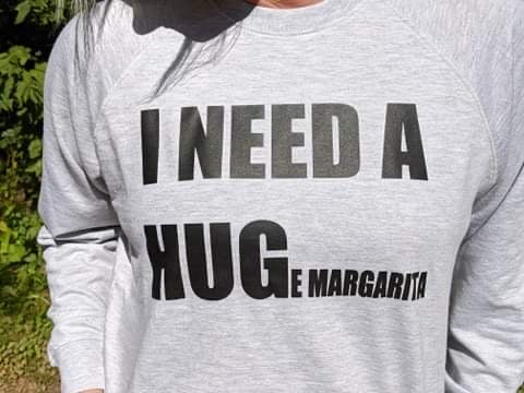 I Need a Hug(e Margarita) Pullover FINAL SALE