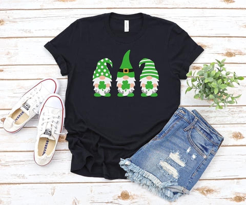 {Pre-Order} St. Patty's Day Gnomes (Black or Gray)