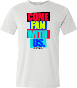 Men's Come Fan With Us Tee
