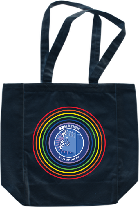 Outsports Rainbow Tote