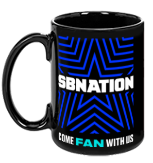 SB Nation Star Mug (Black)