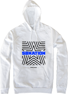 SB Nation Star Hoodie (White)