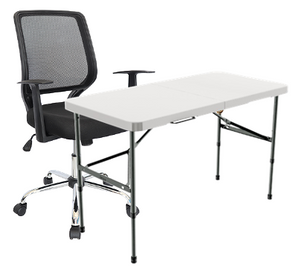 home office silla escritorio mesa plegable