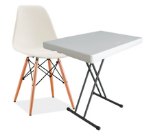 home office silla mesa plegable
