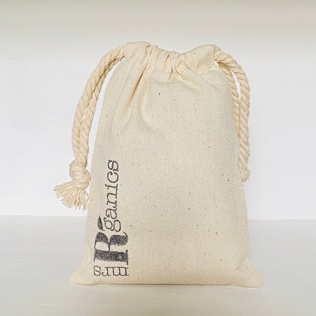 Mrs R'ganics Cotton Drawstring Bags
