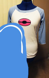 Whitley/Rosa tee - Pokemon Black2/White2 Cosplay