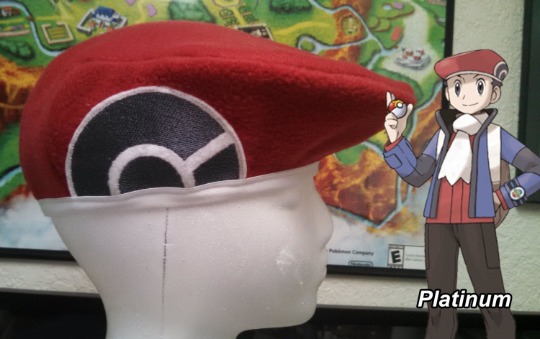 Lucas Beret Hat - Pkmn Diamond/Pearl/Platinum cosplay