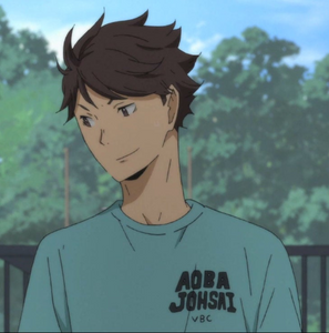 Aoba Johsai High School t-shirt