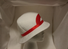 Leaf Green Felt Hat for Pokemon Cosplay