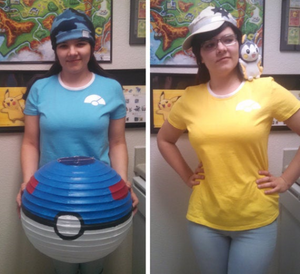 Pokeball Babydoll Tee - Kalos Trainer