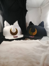 Moon Cat Hat with Ears and Tall - Cosplay Snapback