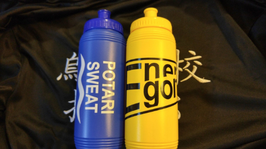 PREORDER - Volleyball Anime Water Bottle - Cosplay Prop Energon/Potari Sweat