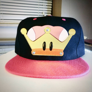 Bowsette Peach Crown Cosplay Snapback