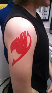 Custom tattoo - any color! For cosplay