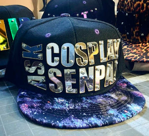 Custom Snapback, for Username/Social Media or Cosplay
