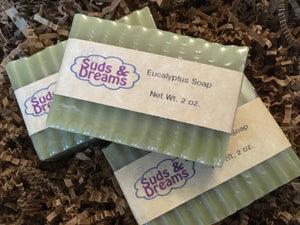 NEW! Eucalyptus Soap
