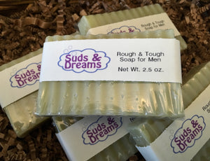 NEW!! Rough & Tough Soap for Men