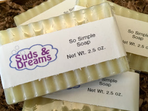 NEW!! So Simple Soap