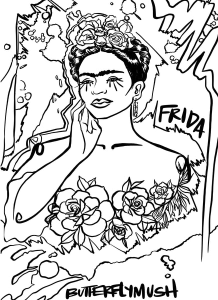 FREE Mush Girl Coloring Pages Download